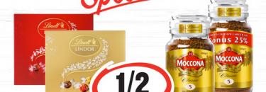 1/2 Price Specials